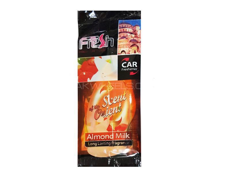 Dry Air Freshener Perfume Card Freshway - Almond Milk Scent Orient in Karachi