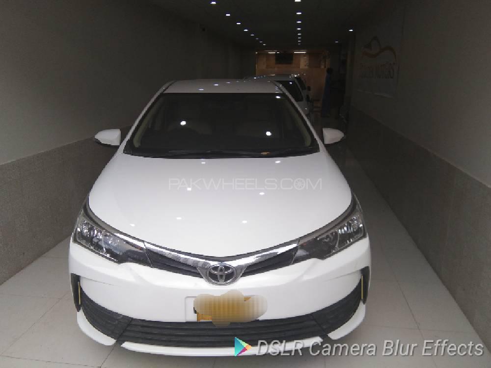 Toyota Corolla Altis Automatic 1.6 2017 Image-1