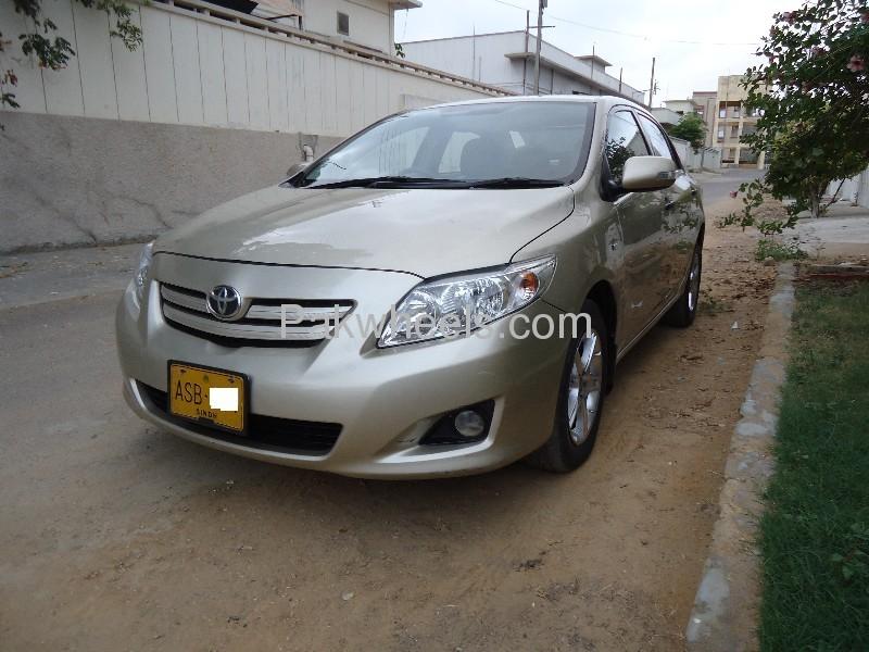 Toyota Corolla GLi 1.3 VVTi 2009 Image-4