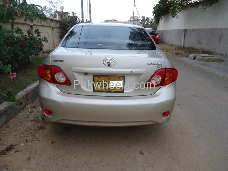 Toyota Corolla GLi 1.3 VVTi 2009 Image-6