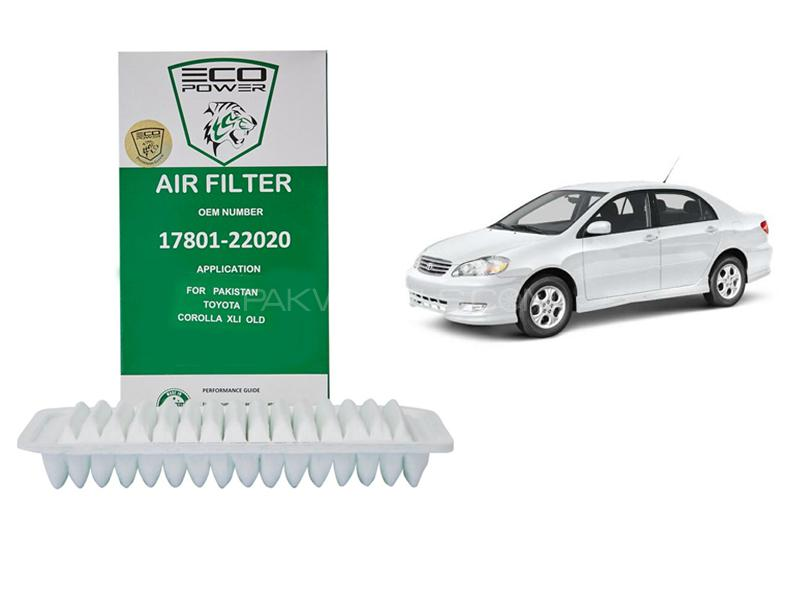 Eco Power Air Filter For Toyota Corolla 2002-2008 Image-1