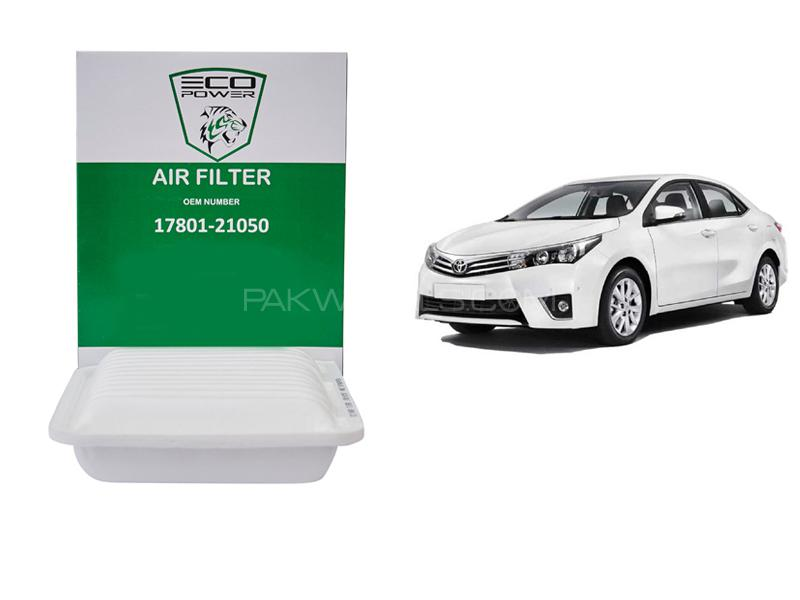 Eco Power Air Filter For Toyota Corolla 2014-2018 Xli Image-1