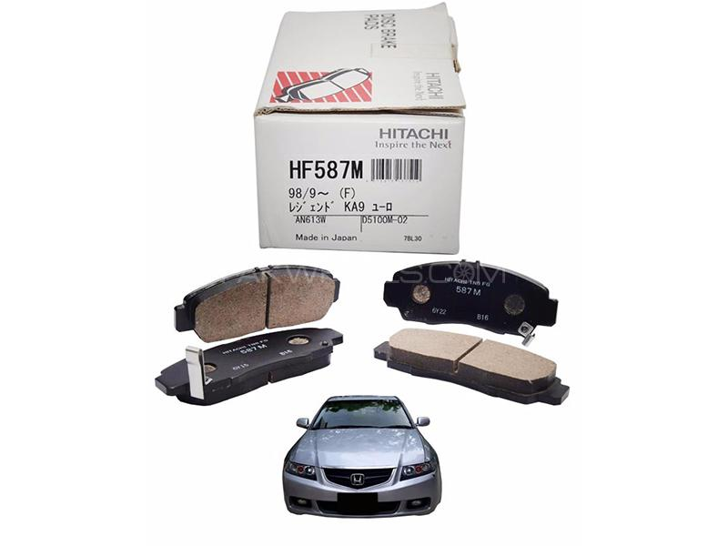 Hitachi Front Brake Pad For Honda Accord CL 2002-2007 - HF587M in Lahore
