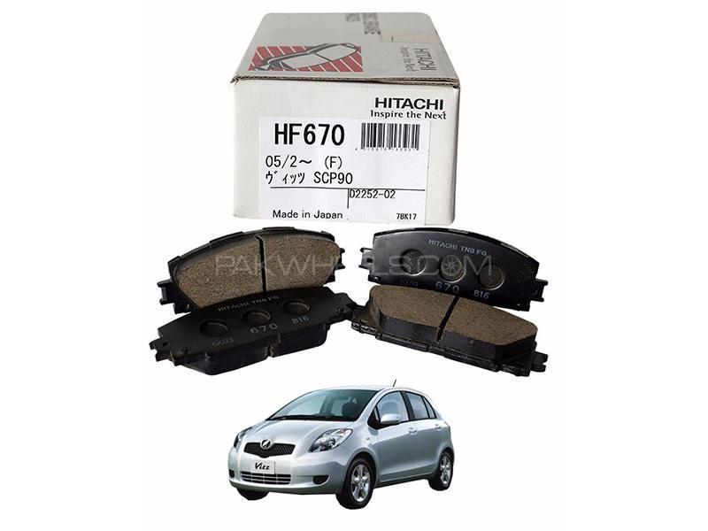 Hitachi Front Brake Pad For Toyota Vitz 2012-2014- HF670 in Lahore