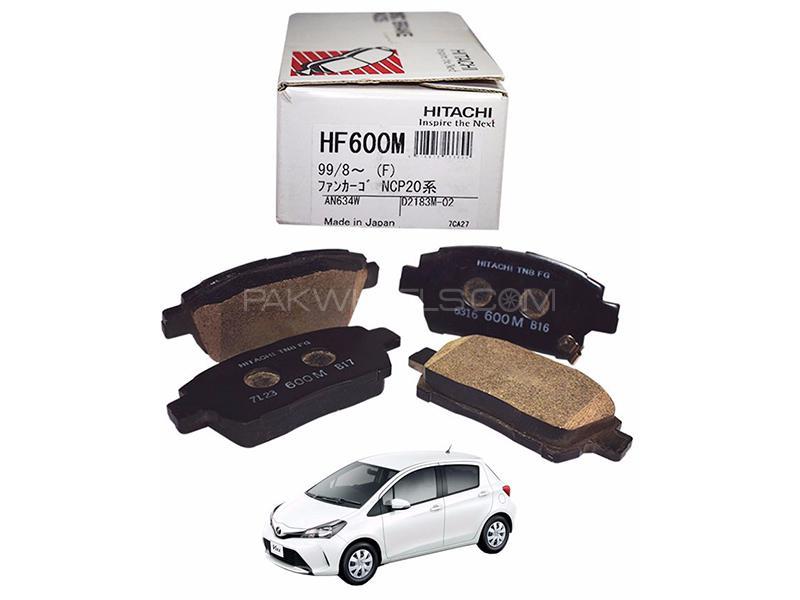 Hitachi Front Brake Pad For Toyota Vitz 2014-2018 - HF600M Image-1