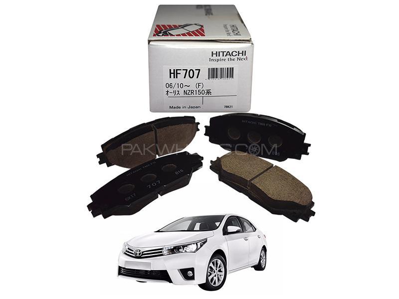 Hitachi Front Brake Pad For Toyota Corolla 2014-2019 - HF707 Image-1