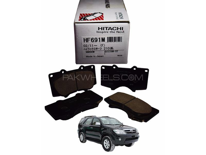 Hitachi Front Brake Pad For Toyota Fortuner 2006-2019 - HF691 in Lahore