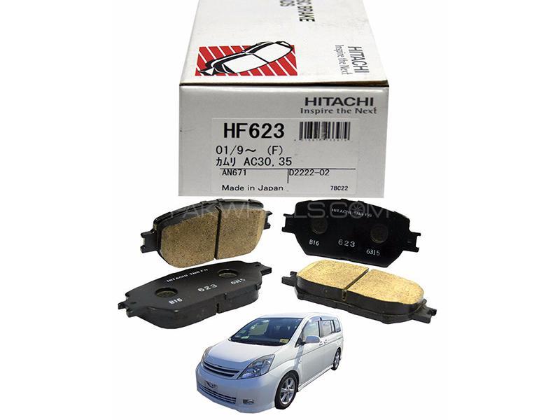Hitachi Front Brake Pad For Toyota Isis 2004-2009 - HF623 Image-1