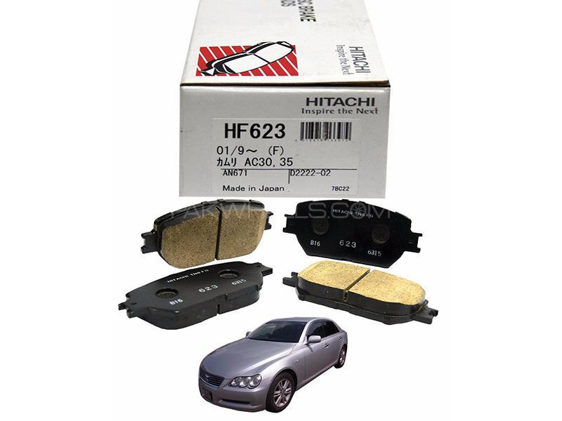 Hitachi Front Brake Pad For Toyota Mark X 2004-2009 2500 CC - HF623 Image-1