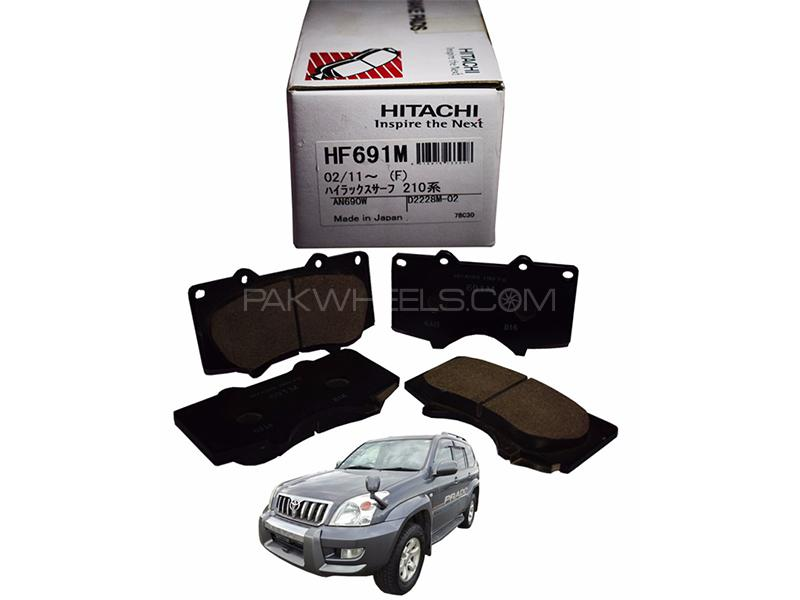 Hitachi Front Brake Pad For Toyota Prado 2003-2007 - HF691 Image-1
