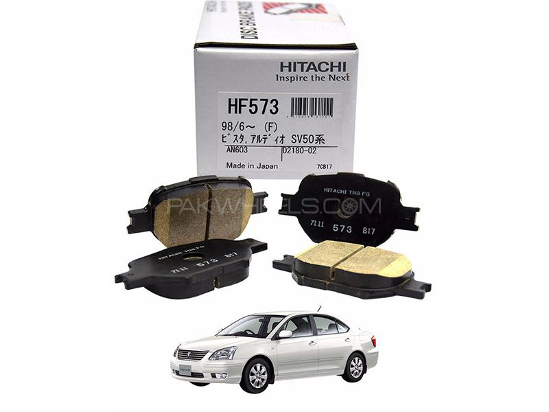 Hitachi Front Brake Pad For Toyota Premio 2001-2007 - HF600M Image-1