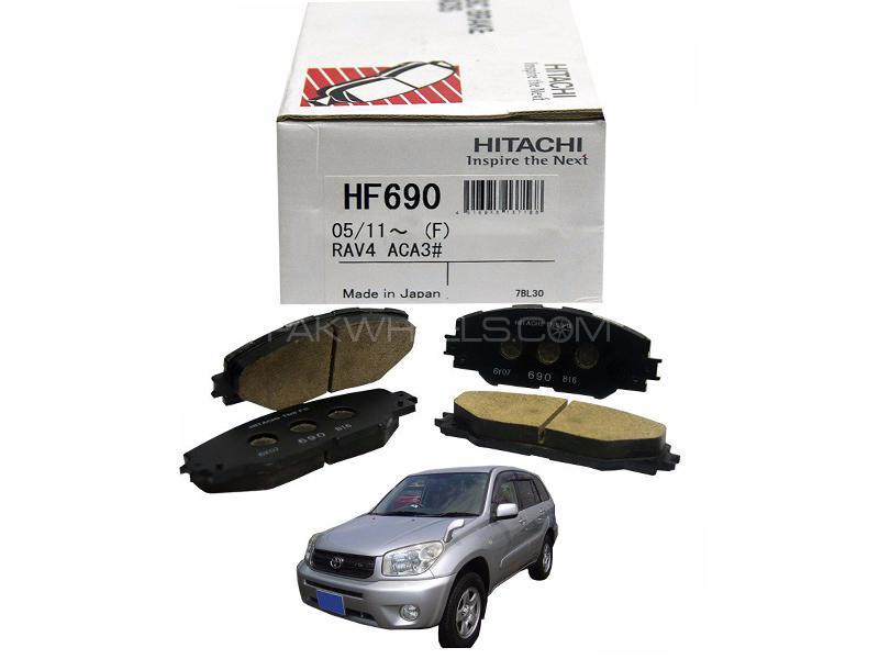 Hitachi Front Brake Pad For Toyota Rav4 2005-2012 - HF413M in Lahore