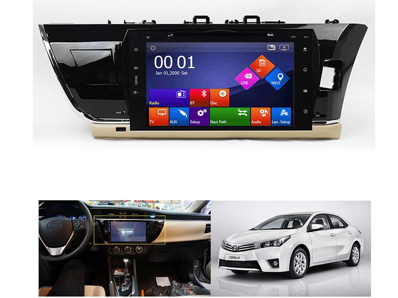 DVD Player For Toyota Corolla 2014-2017 in Karachi
