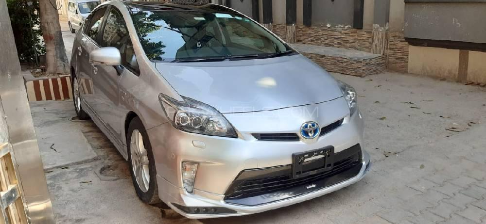 Toyota Prius S Touring Selection My Coorde 1.8 2012 Image-1