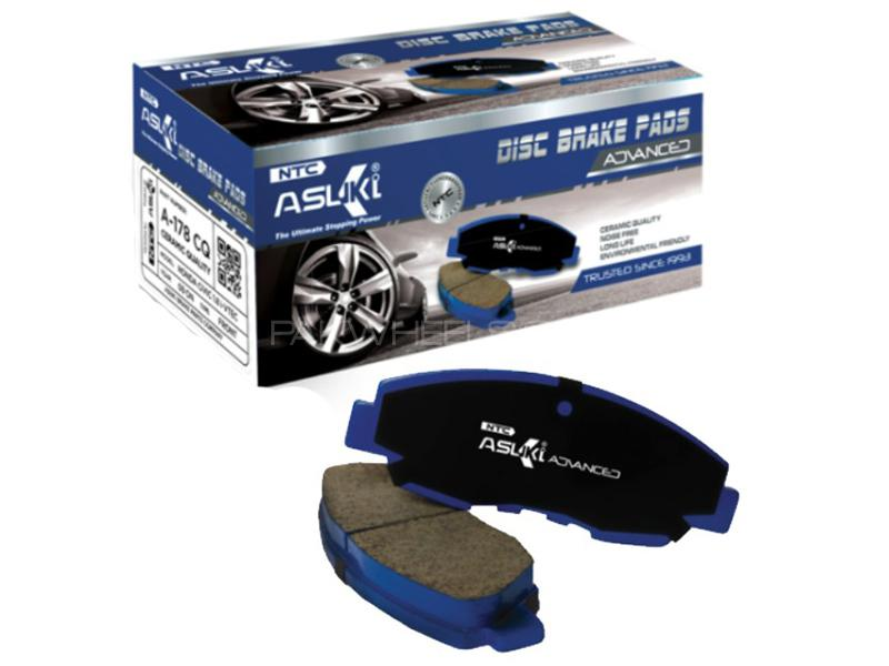 Asuki Advanced Rear Brake Pad For Toyota Corolla XLi & GLi 2002-2008 - A-554 AD Image-1