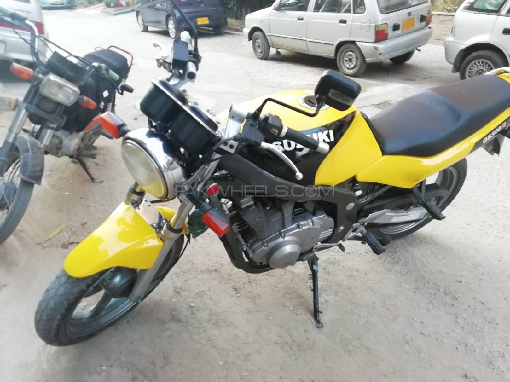 Used Suzuki GS500E 1993 Bike for sale in Karachi - 244700 | PakWheels