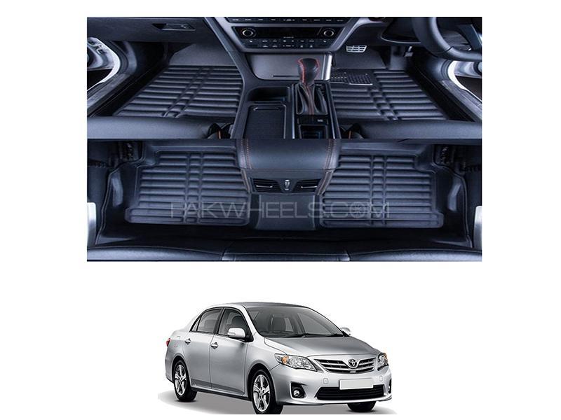 5D Floor Mat For Toyota Corolla 2009-2013 - Black  Image-1