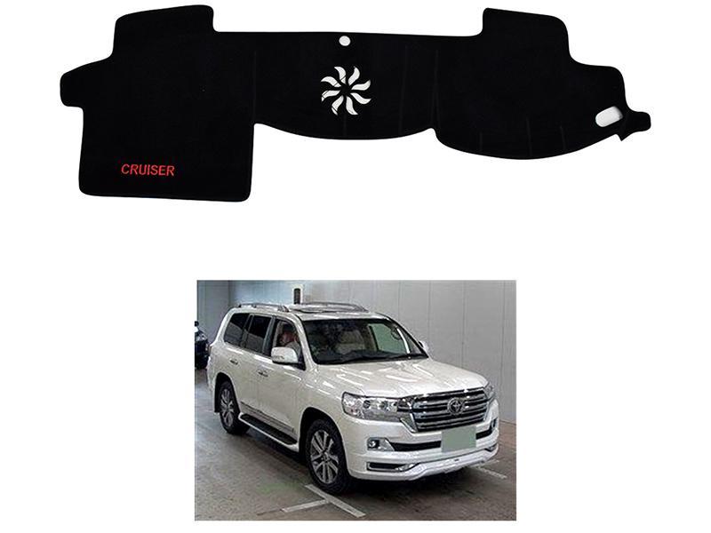 Velvet Dashboard Mat For Toyota Land Cruiser 2016-2019 in Karachi
