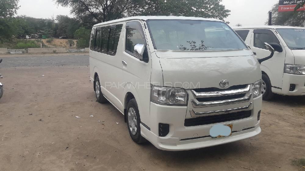 Toyota Hiace 2019 Image-1