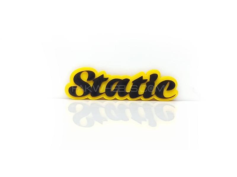 Static Plastic Pvc Emblem Image-1