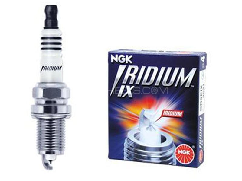NGK Iridium Spark Plug LKR7BIX - 4 Pcs Image-1