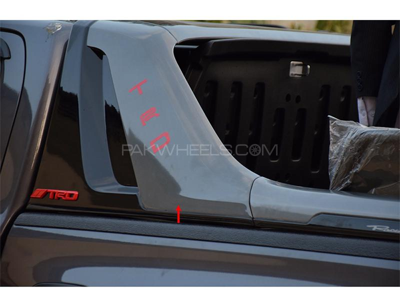TRD Roll Bar For Toyota Revo 2016-2019 - Black Image-1