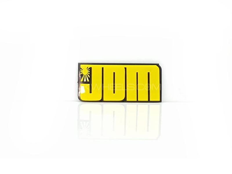 Jdm Plastic Pvc Emblem Image-1