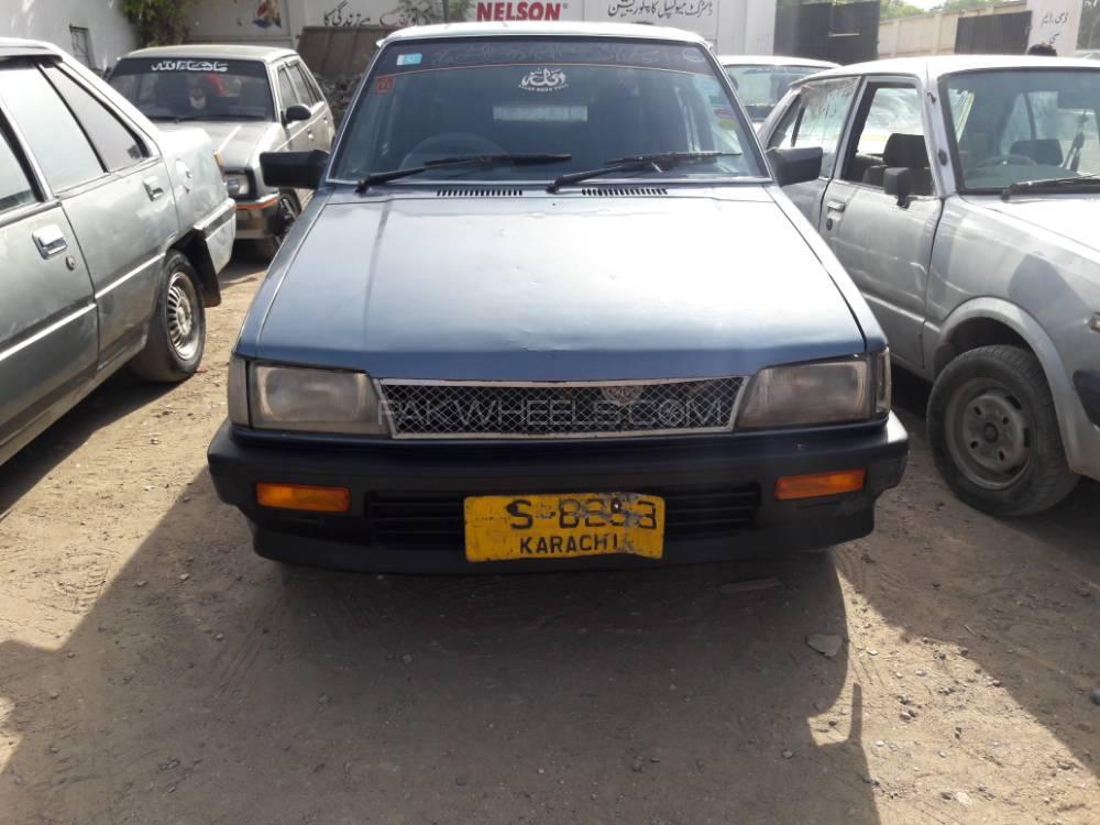 Daihatsu Charade Cs 1986 For Sale In Karachi Pakwheels