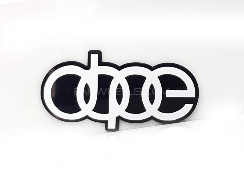 Dope Plastic Pvc Emblem Image-1