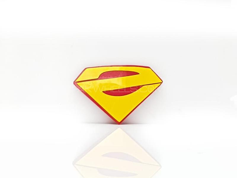 Superman Plastic Pvc Emblem Image-1