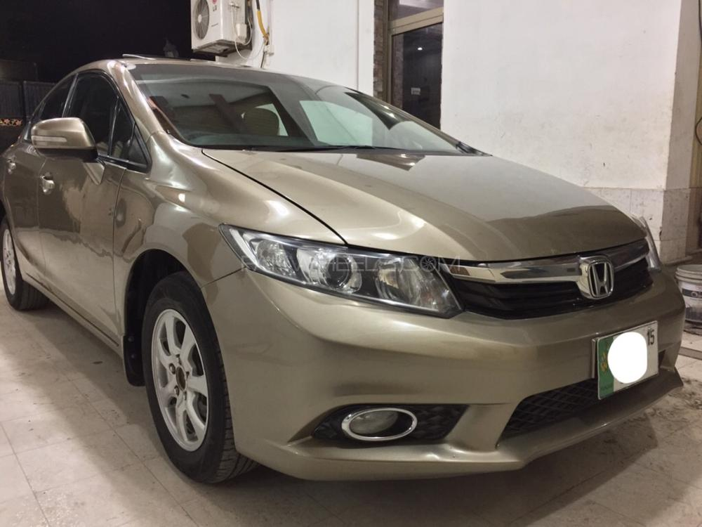Honda Civic VTi Oriel Prosmatec 1.8 i-VTEC 2013 Image-1