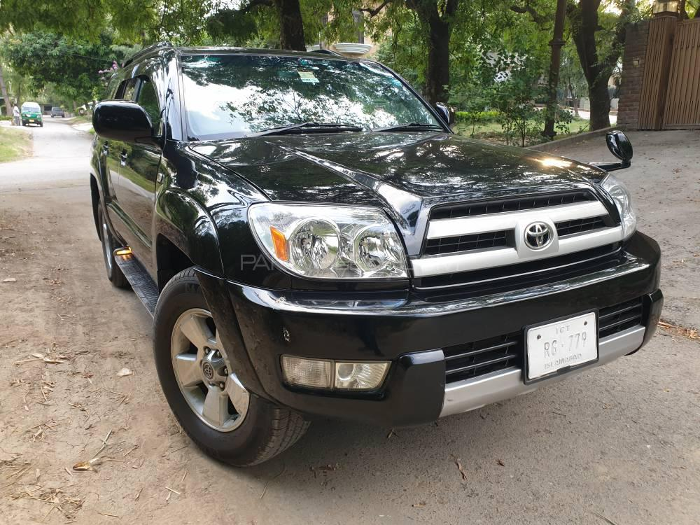 9693d39a7b61 Toyota Surf SSR-G 3.4 2004 for sale in Islamabad | PakWheels