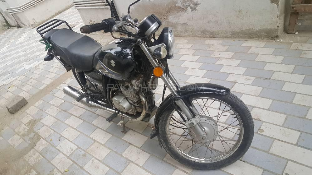 Used Suzuki GS 150 2016 Bike for sale in Karachi - 247410 | PakWheels