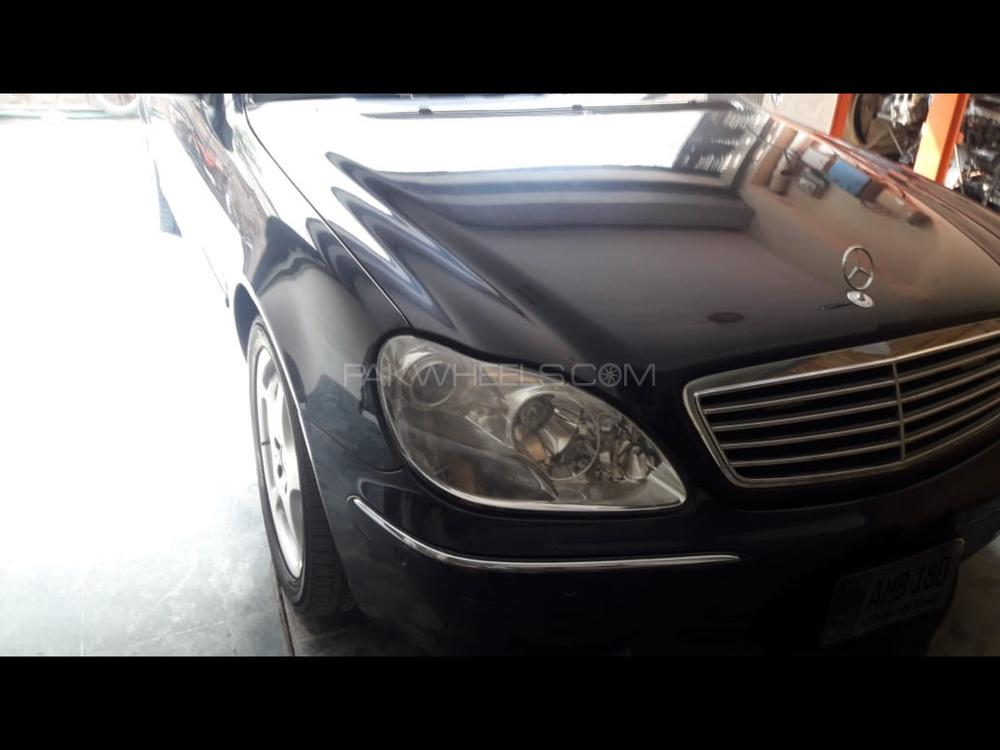 Mercedes Benz S Class S 320 2001 Image-1