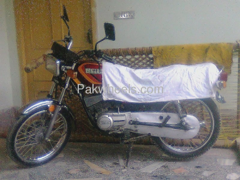 Used yamaha rx 115 1982 bike for sale in swatmingora for Yamaha rx115 motorcycle for sale