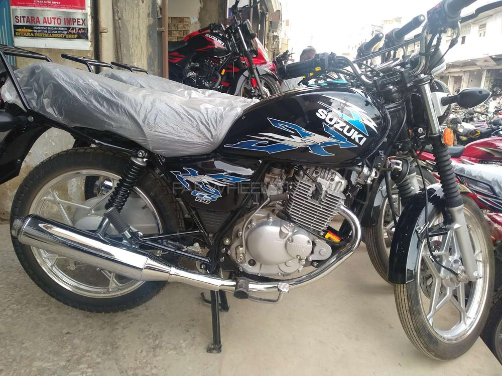Used Suzuki GS 150 2019 Bike for sale in Karachi - 248280 | PakWheels