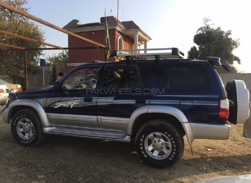 b56bc28c1304 Toyota Surf SSR-G 3.0D 1997 for sale in Islamabad | PakWheels