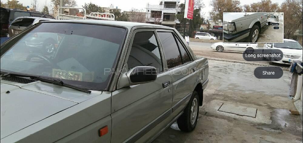 Nissan Sunny EX Saloon 1.3 1987 Image-1