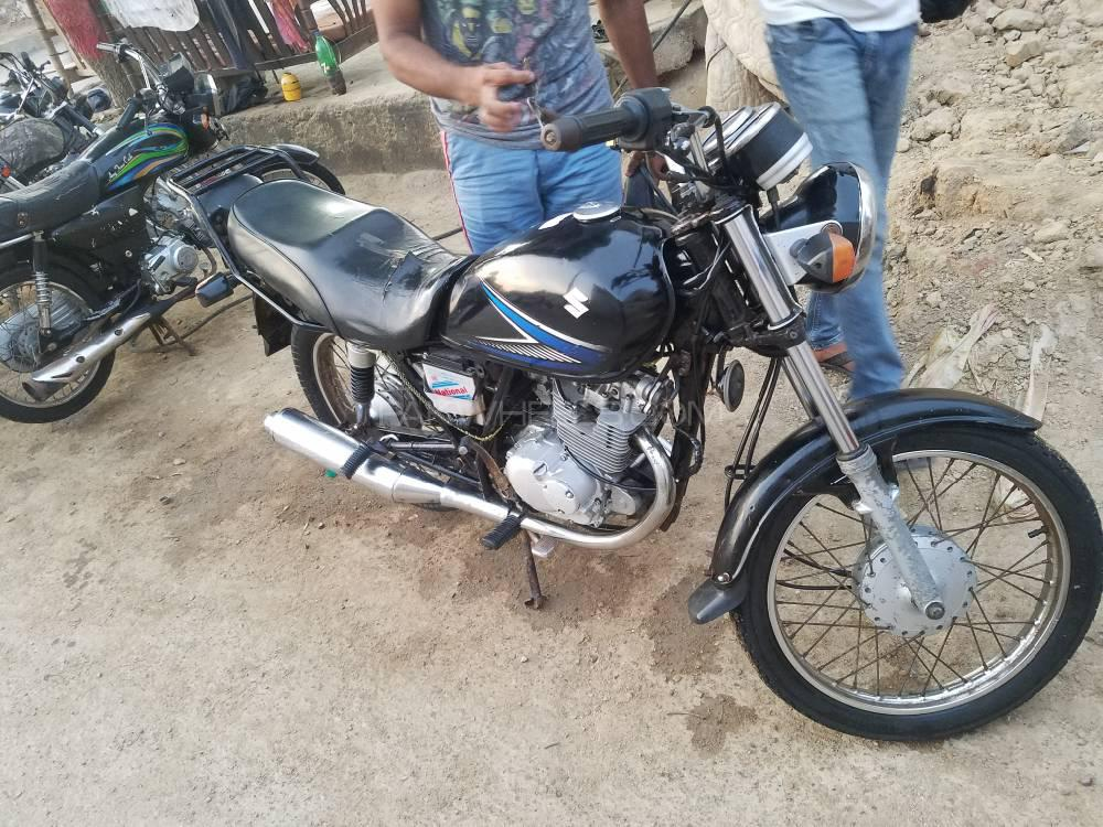 Used Suzuki GS 150 2013 Bike for sale in Karachi - 248958 | PakWheels