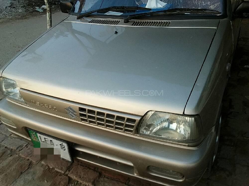 Suzuki Mehran VXR Euro II (CNG) 2017 for sale in Sargodha | PakWheels