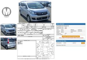Used Mitsubishi Ek Wagon M e-Assist 2016