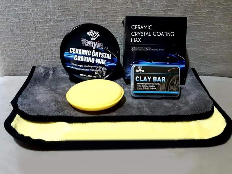 Tonyin Ceramic Crystal Coating Wax Pack 5 Image-1