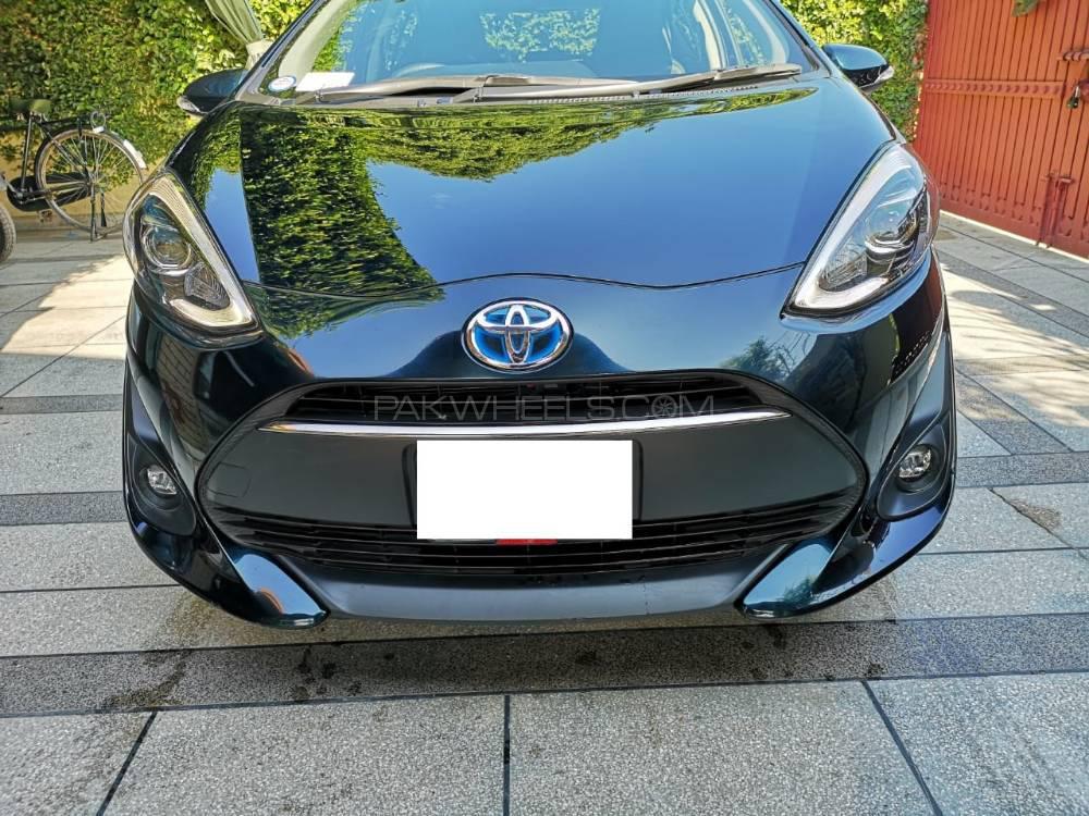 Toyota Aqua G LED Soft Leather Selection  2017 Image-1