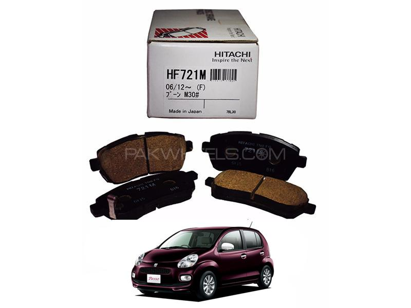 Hitachi Front Brake Pad For Toyota Passo Hana 2010-2016 - HF721M Image-1