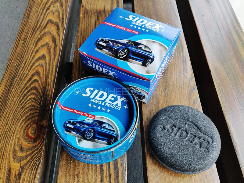 Sidex Shines And Protects Car Wax Image-1