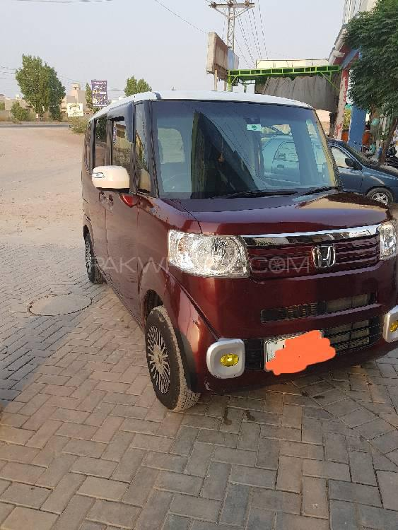 Honda N Box 2Tone Color Style G Turbo Package 2014 Image-1