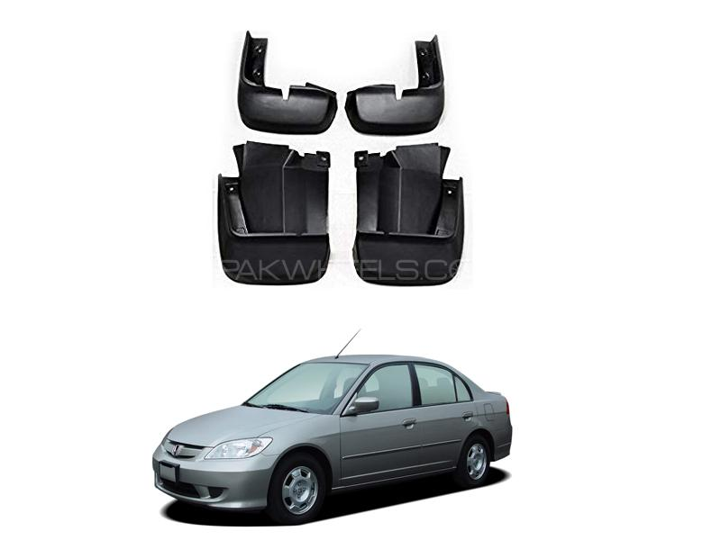Honda Civic Mud Flap Set 4pcs 2004-2006 Image-1