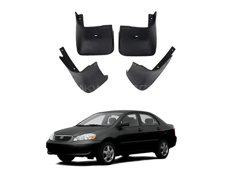 Toyota Corolla Mud Flap Set 4pcs 2002-2008 in Lahore