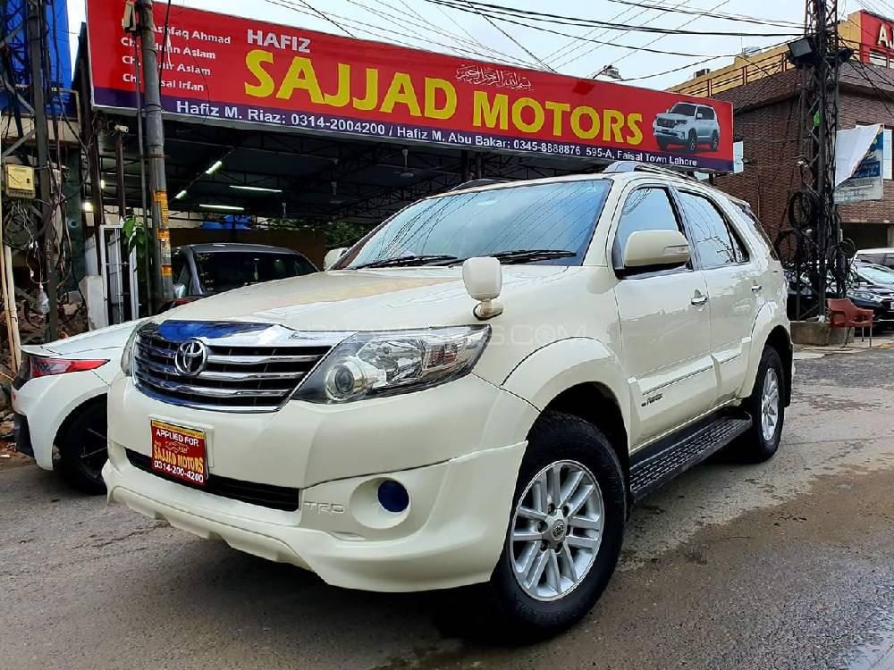 Toyota Fortuner TRD Sportivo 2013 Image-1