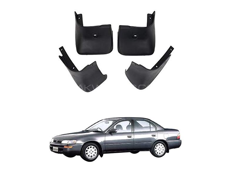 Toyota Corolla Mud Flap Set 4pcs 1992-1996 Image-1